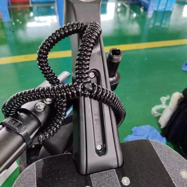 Спиральная защита проводов Dualtron